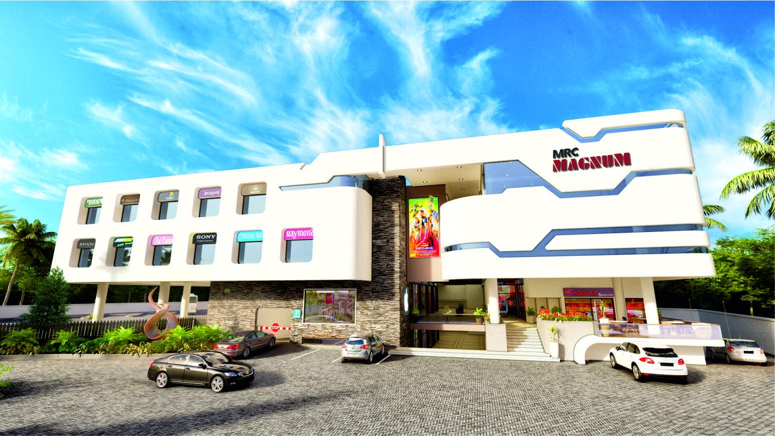 Modern Bus Terminal, Shopping Mall & Multiplex